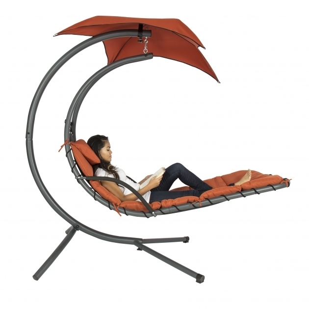 Hanging Chaise Lounge Chair Chair Arc Stand Orange Air Porch Swing Hammock Images 94