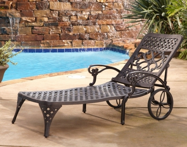 Home Styles Outdoor Chaise Lounge Chair With Wheels Pictures 42