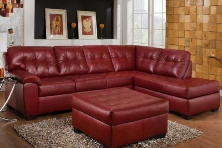 Leather Sofa Chaise