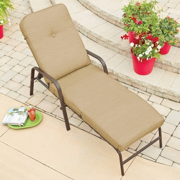 Mainstays Lawson Ridge Outdoor Chaise Lounge Cushion Clearance Image 22