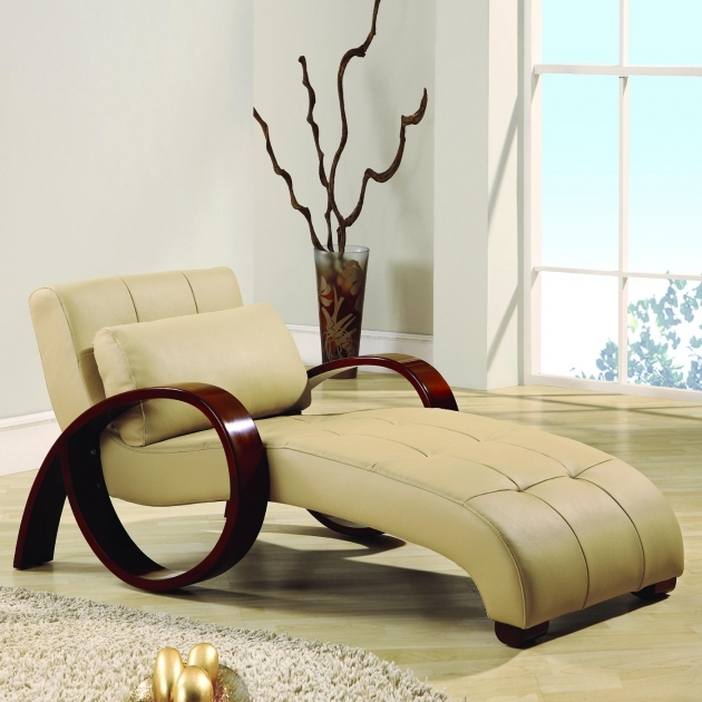 Modern Design Indoor Chaise Lounge Wood Material  Photo 46