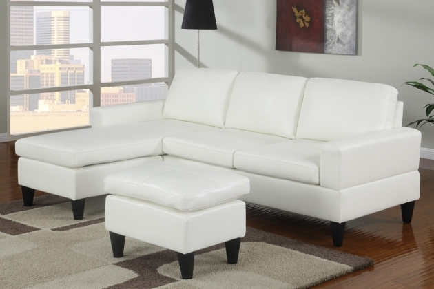 Modern Style Small Sectional Sofa With Chaise Lounge White Picture 37