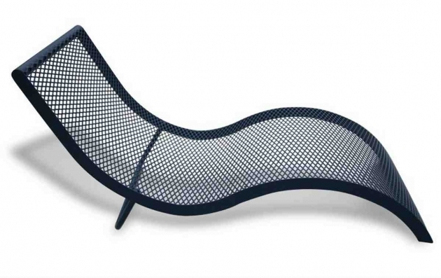 Modern Wrought Iron Chaise Lounge Chairs Furniture Images 20