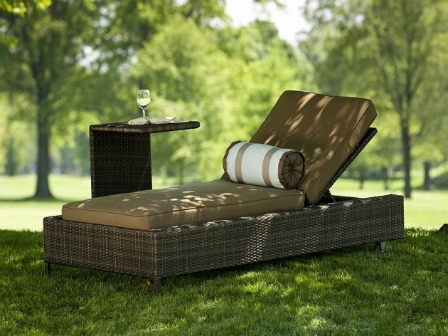 Outdoor Furniture Chaise Lounge With Table Pictures 03