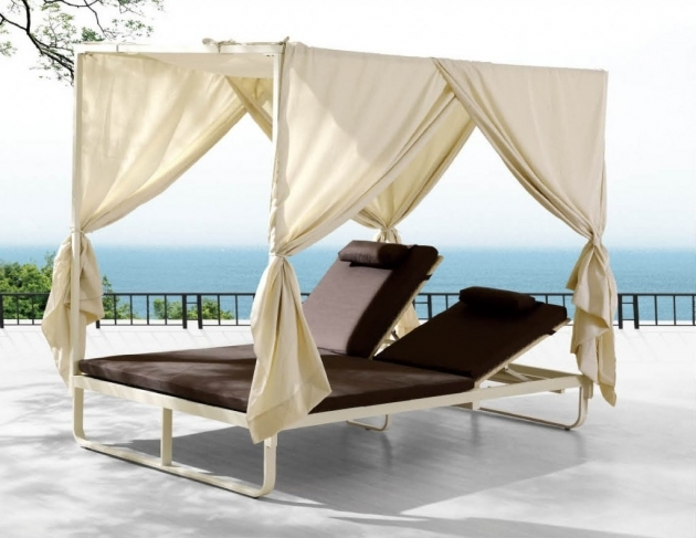 Pool Chaise Lounge Outdoor Double  Photo 41