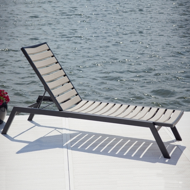Pool Chaise Lounge Polywood Chairs Resin Pic 57