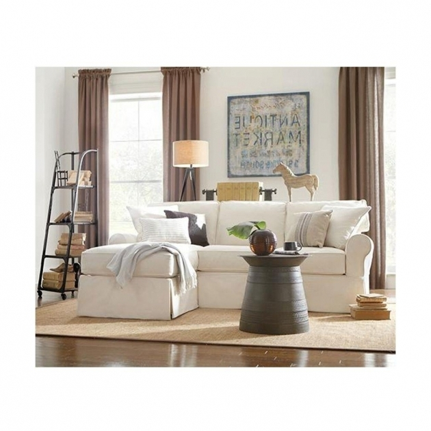 Slipcover Sectional Sofa With Chaise Home Decorators Collection Mayfair Fabric 2 Piece Images 50