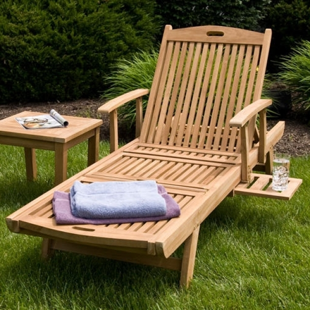 Teak Outdoor Furniture Chaise Lounge Image 79