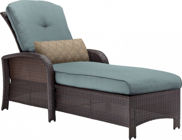 Wicker Chaise Lounge Outdoor Hanover Strathmere Pic 44