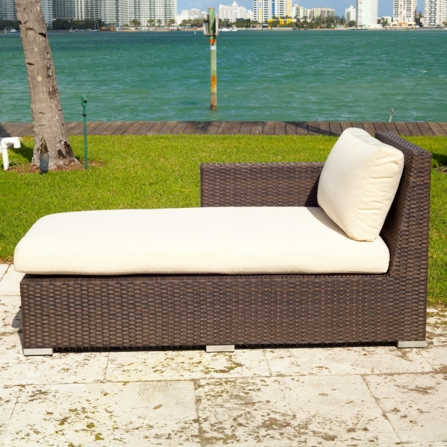 Wicker Chaise Lounge Source Outdoor Lucaya Wicker 4 Piece Sectional Chaise Lounge Set Photos 25