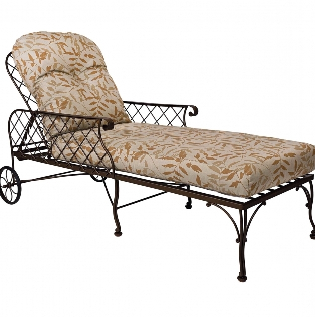 Wrought Iron Chaise Lounge Chairs Home Design Ideas Image 28