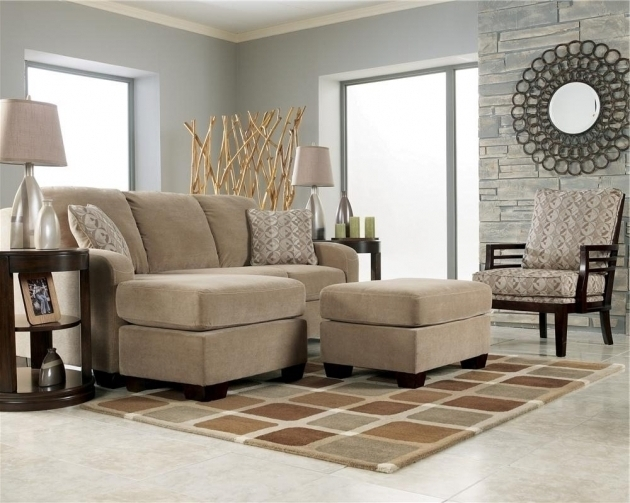 Ashley Furniture Chaise Lounge Circa Taupe Chair Del Sol Furniture