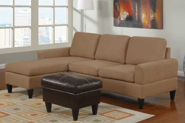 Brown Fabric Sectional Sleeper Sofa With Chaise Lounge Modern Storage Picture 38