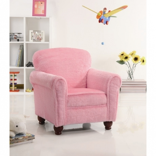 Children's Chaise Lounge Bowdoinham Kids Accent Chair In Soft Pink  Photos 20