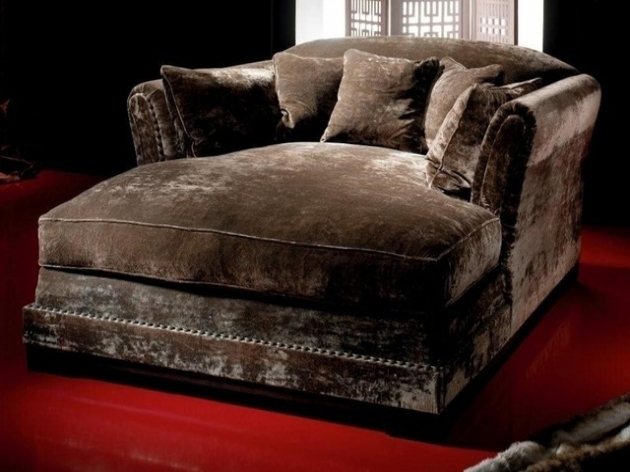 ... Comfy Leather Oversized Chaise Lounge Chair Tufted Oversized Large  Photos 55 ...