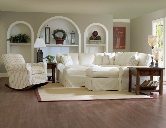Elegant Slipcover For Sectional Sofa With Chaise For Living Room Ideas Images 79