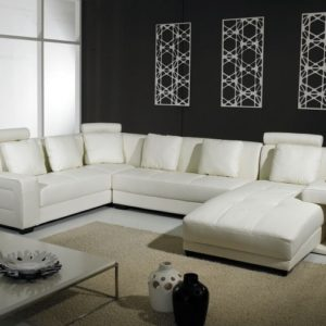 Leather Sectionals with Chaise