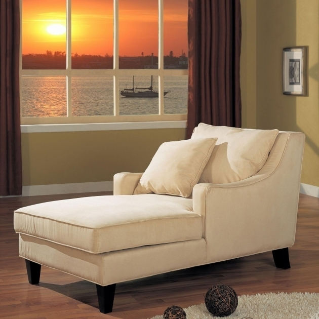 Indoor Convertible Chaise Lounge Ideas White Colour And Pillow Twin  Photos 17