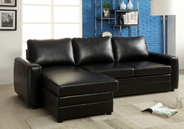 Leather Sectionals With Chaise Furniture Transitional Black Bonded Pictures 98