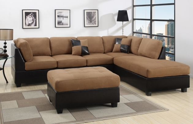 Leather Sectionals With Chaise Ideas Brown Photo 24