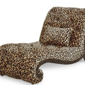Leopard Chaise Lounge