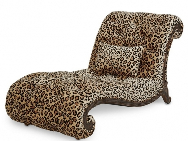 Leopard Chaise Lounge Living Room Furniture Photo 45