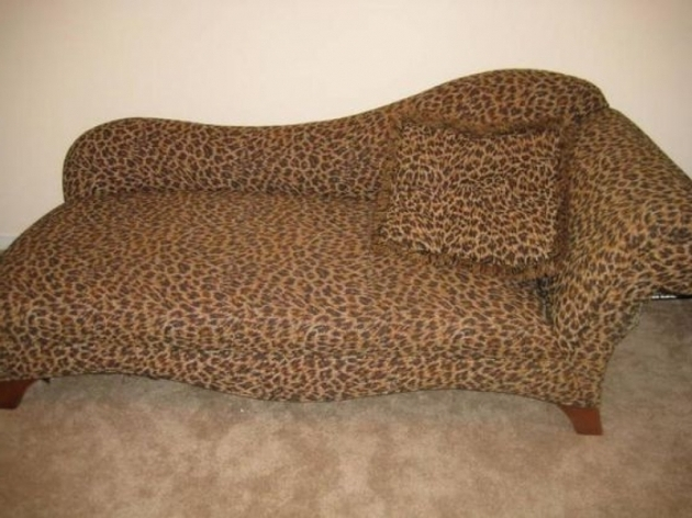 Leopard Chaise Lounge Print Sofa Images 20