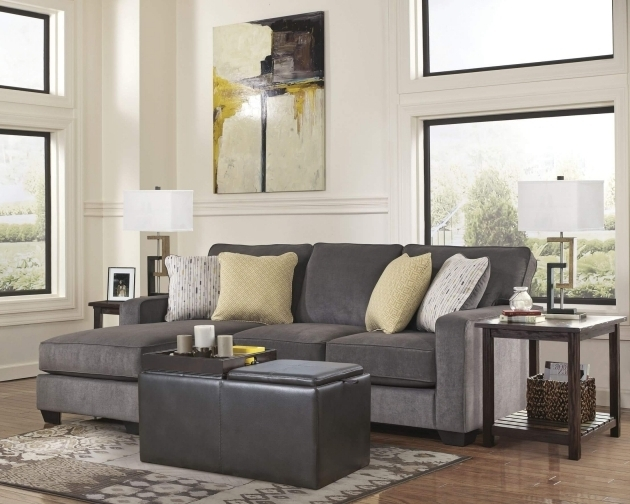 Living Room Sectional Chaise Lounge Sofa With Ottoman Modern Ideas Photo 02