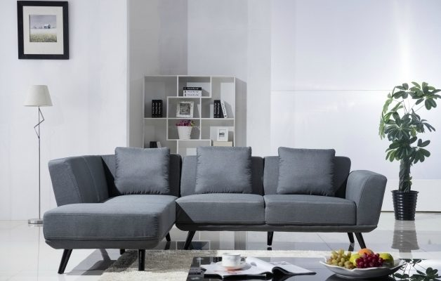 Madison Home USA Sofa With Reversible Chaise Lounge Sectional  Picture 28