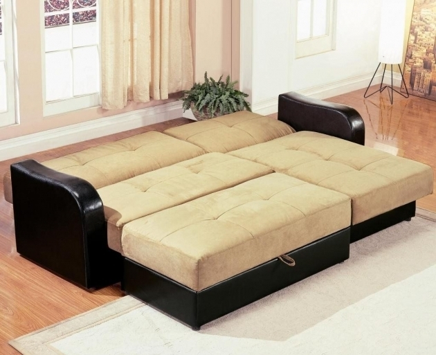 Sleeper Sectional Sofa With Chaise Microfiber Photo 80