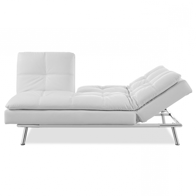 White Convertible Chaise Lounge Design Images 20