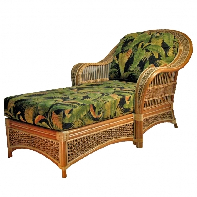 Wicker Chaise Lounge Chairs Indoors Traditional Living Rooms Photo 73