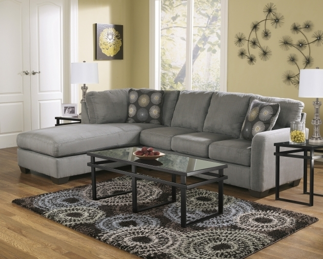 2 Piece Sectional Sofa With Chaise Grey Zella Set  Photo 72