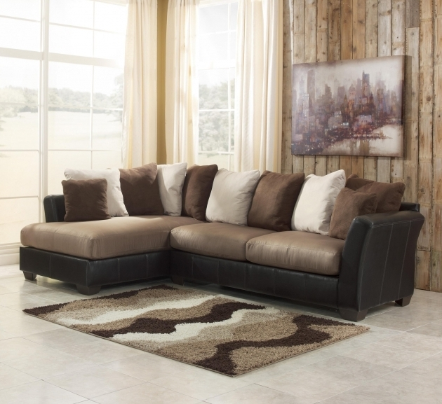 Benchcraft 2 Piece Sectional Sofa With Chaise Masoli Mocha Picture 44