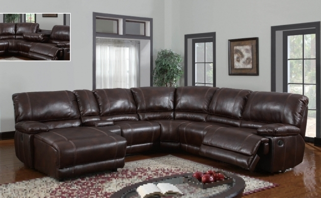 Brown Leather Sectional With Chaise And Recliner Home Decorations Pictures 39