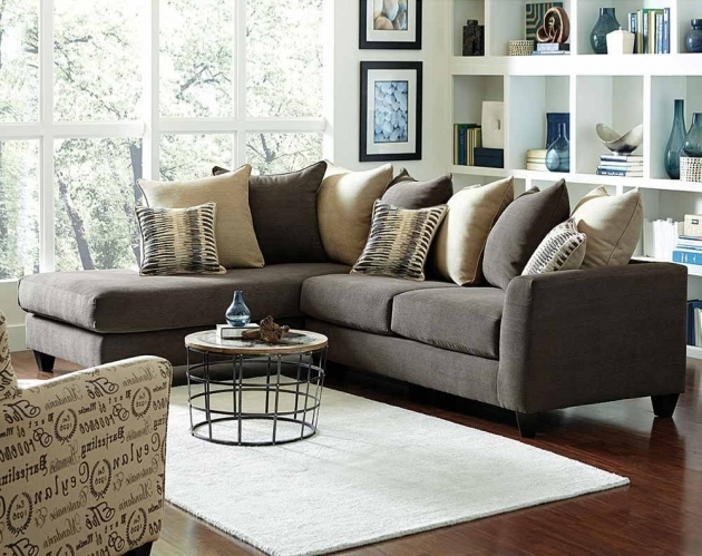 Charcoal Gray Couch With Chaise Corey Two Piece Sectional Sofa Pictures 55