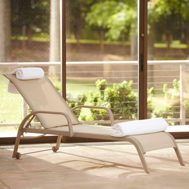 Hampton Bay Westin Grade Sling Patio Chaise Lounge Sale Photo 72