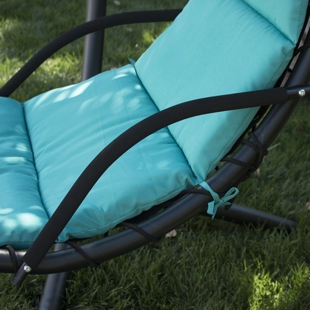 Hanging Turquoise Chaise Lounge Chair Porch Patio Swing Hammock Canopy Images 21