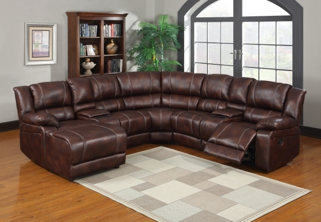 Leather Sectional With Chaise And Recliner Built In Picture 60
