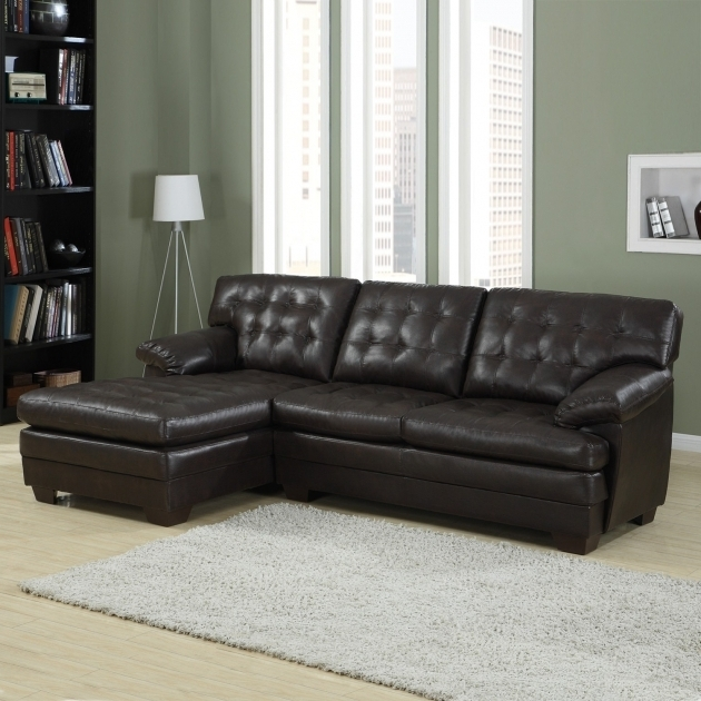Leather Sectional With Chaise Lounge Living Room Interior L Shaped With Dark Grey Photo 24