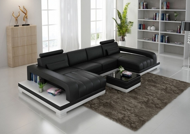 Oversized Double Chaise Sectional Sofa Leather Ideas Picture 96