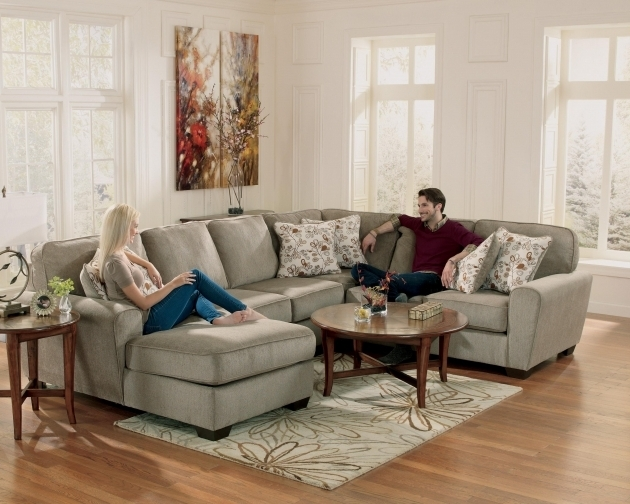 Patina 4 Piece Small Sectional Sofa With Chaise And Cuddler Photo 54