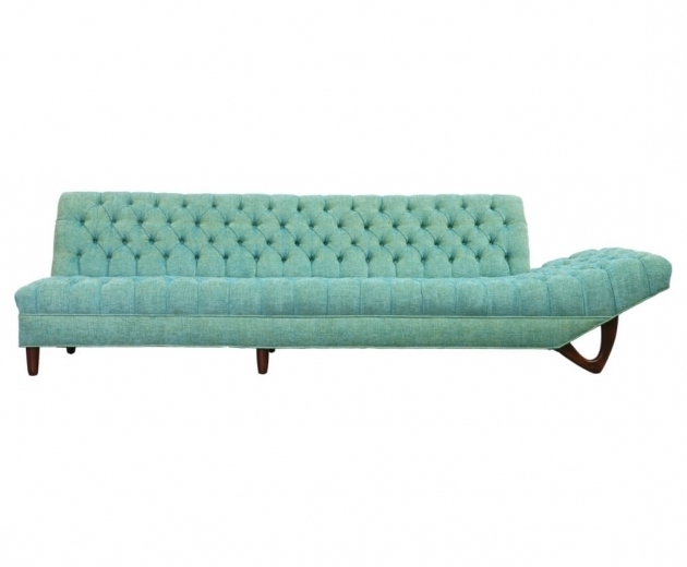 Turquoise Chaise Lounge Furniture Sofa With Functional And Artistic Design Photo 15