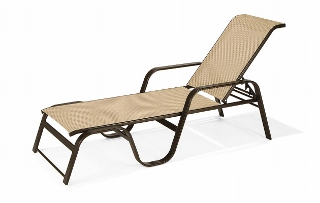 Winston Palazzo Sling Cast Aluminum Arm Chaise Lounge: Aluminum Sling Chaise Lounge Chair With Wheels Living Room
