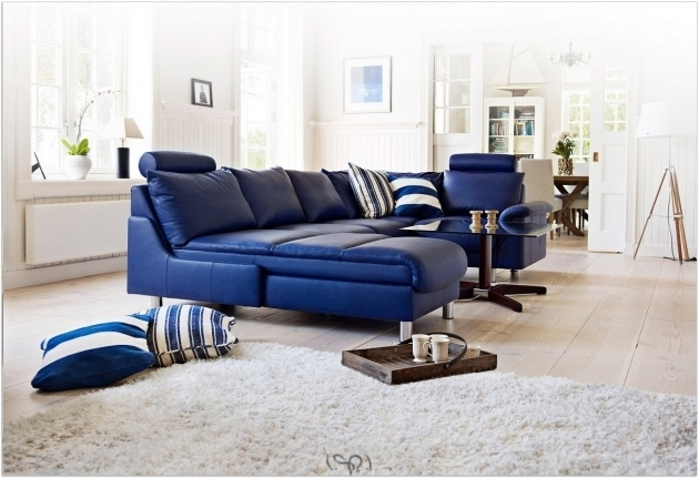 Blue Sectional Sofa With Chaise Leather Sofas Rustic Light Images 74