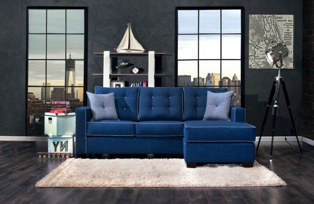 Blue Sectional Sofa With Chaise Simmons Upholstery Bluebell Laf Bump Sofas Images 00