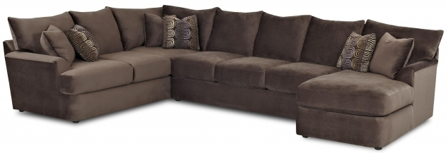Brown Double Chaise Lounge Sofa Cabinetry Home Services  Images 81
