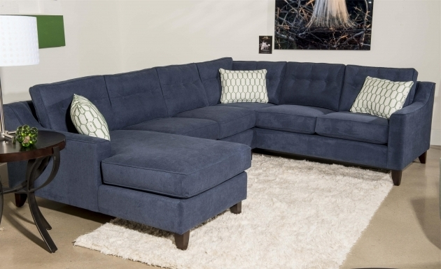 Cobalt Leather Blue Sectional Sofa With Chaise Swipe Modern Ideas Photo 50