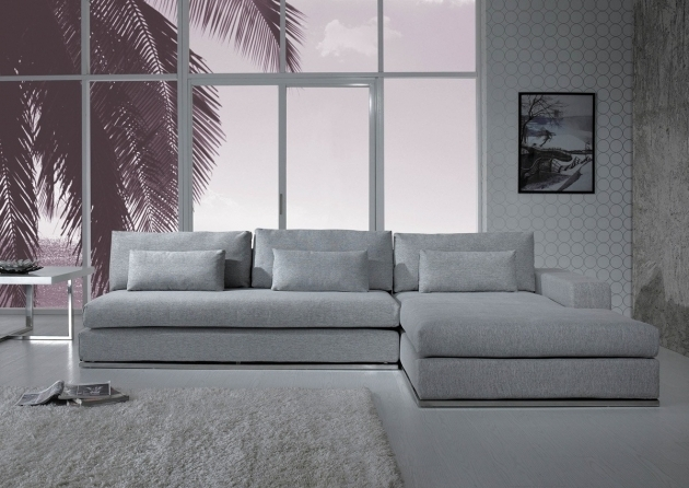 Divani Casa Ashfield Modern Fabric Sectional Sofas With Chaise Picture 73