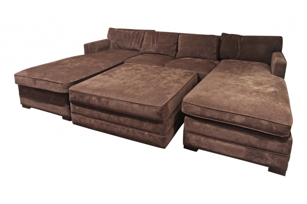 Double chaise sofa lounge double chaise lounge living room for Chaise longe sofa